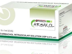 Carbochol Intraocular Solution